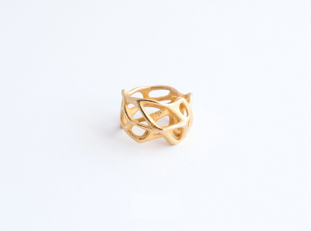Voronoi Ring Size US 8.0