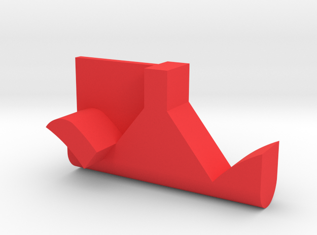 Warthog throttle part - afterburner detent in Red Processed Versatile Plastic