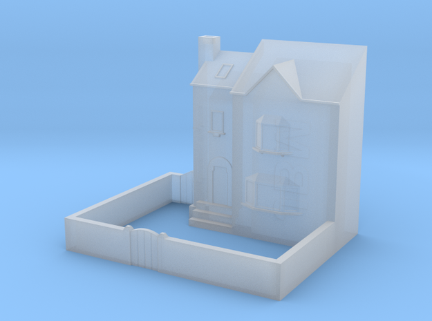 (1:450) Low Relief Row House in Frosted Ultra Detail