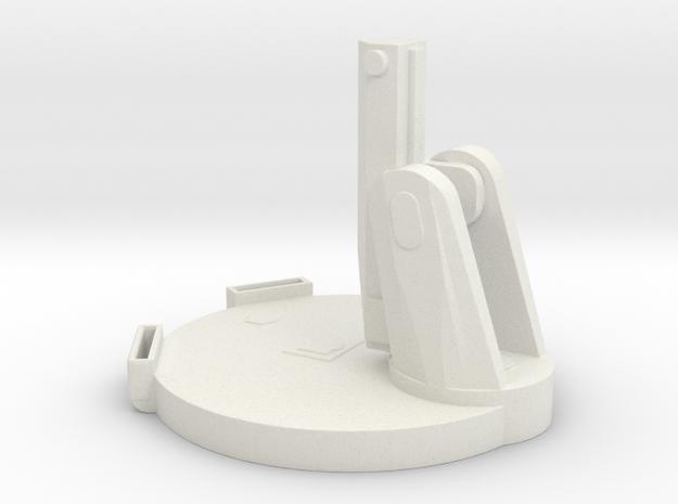 1/96 Scale Mk 13 Missile Launcher in White Natural Versatile Plastic