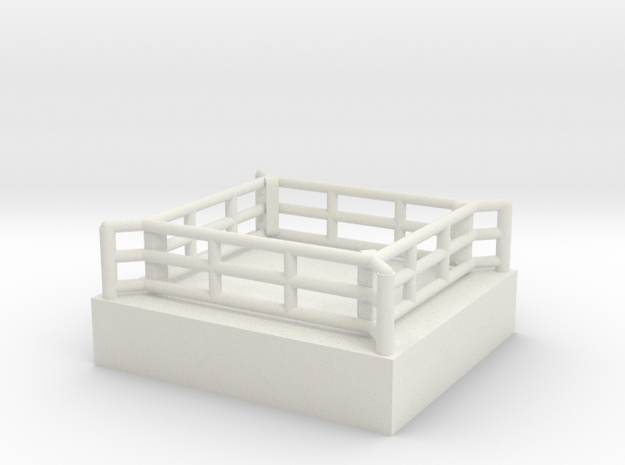 Boxring (mobil) - 1:220 in White Strong & Flexible