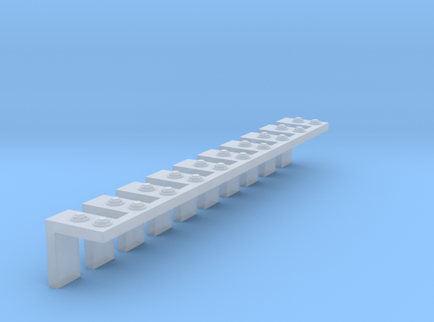 .125 outside bracket nbw in Smooth Fine Detail Plastic