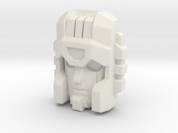Cloudburst/Micronus Face in White Strong & Flexible
