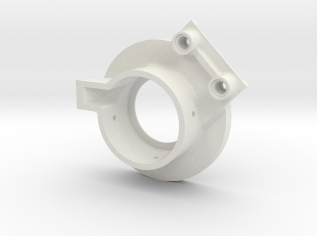 rampage_encoder_mount_left_front in White Strong & Flexible