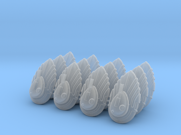 Grav / Hover Tank (12 Set) in Frosted Ultra Detail