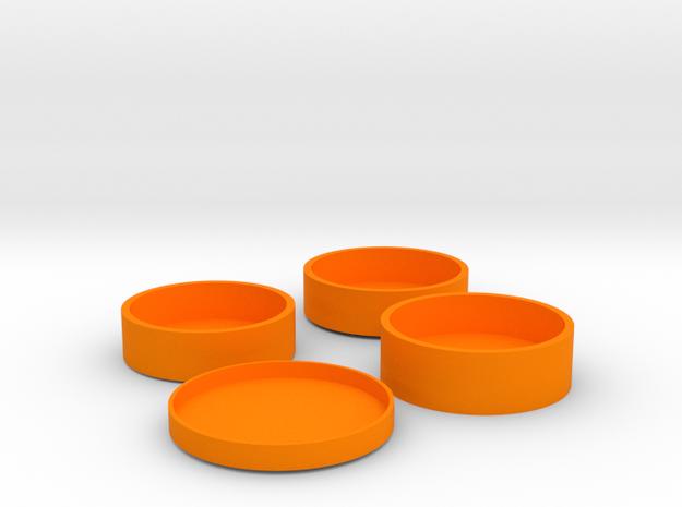 O-Korto Set USA Dollar in Orange Processed Versatile Plastic