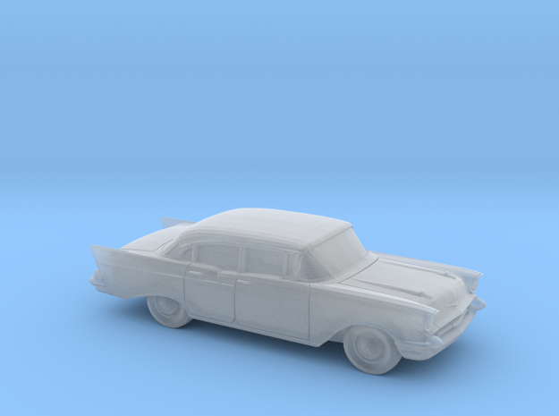 1/120 1X 1957 Chevrolet One Fifty Sedan in Frosted Ultra Detail