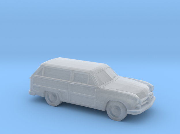 1/120 1X 1949 Ford Custom Station Wagon in Frosted Ultra Detail
