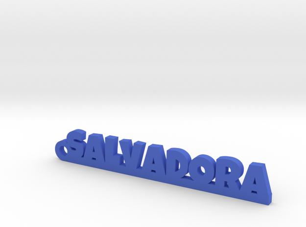 SALVADORA_keychain_Lucky in Blue Processed Versatile Plastic