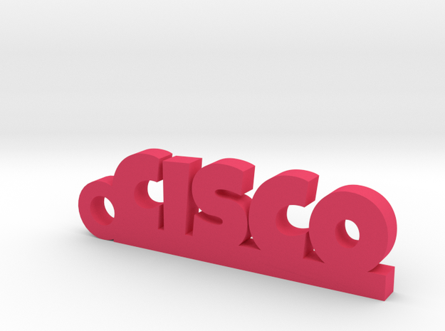 CISCO_keychain_Lucky in Pink Processed Versatile Plastic