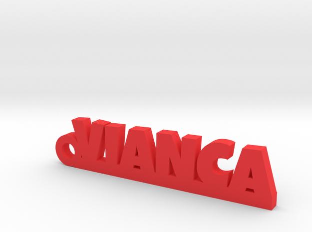 VIANCA_keychain_Lucky in Red Processed Versatile Plastic