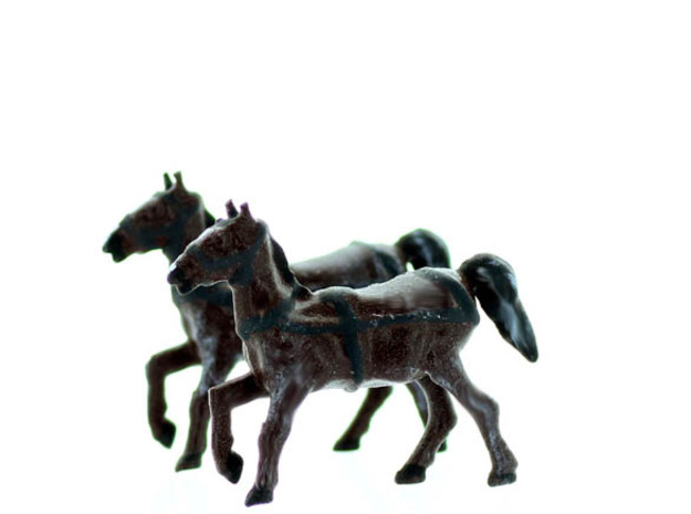 HORSE with REINS N scale