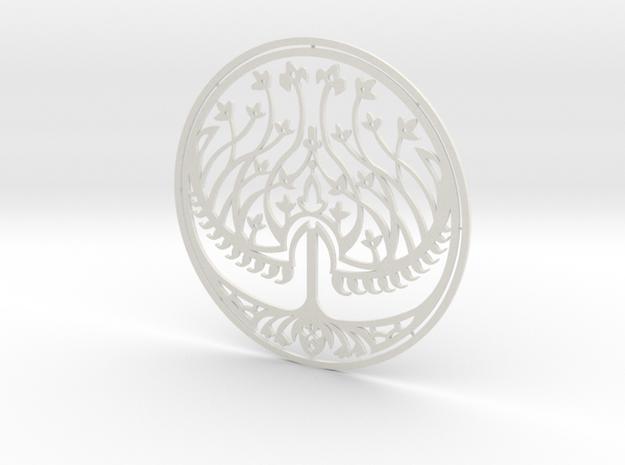 200mm Seal of Bethmoora (HellBoy 2) in White Natural Versatile Plastic