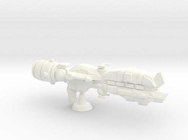 Conestoga II Assault Transport - 1:7000 in White Processed Versatile Plastic