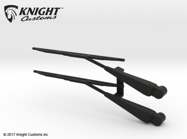 SR50022 SR5 wipers in Black Natural Versatile Plastic