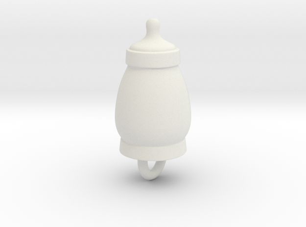 Sucker Punch Babydoll Gun Charms: Baby Bottle in White Natural Versatile Plastic