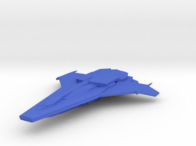 Mercury - Heavy Attack Ship in Blue Processed Versatile Plastic