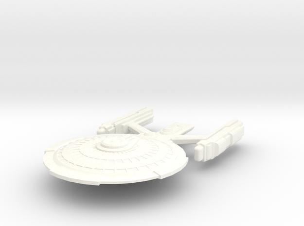 USS Copeland in White Processed Versatile Plastic