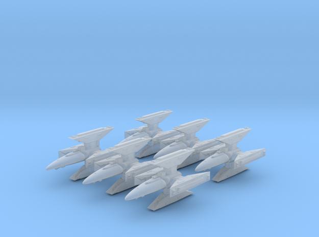 CR Kutai-class Gunship squadron six-pack in Smooth Fine Detail Plastic