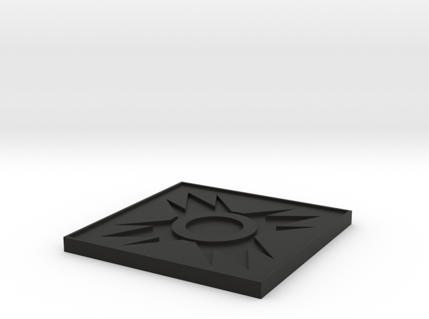 Sith Holo Stand Top in Black Natural Versatile Plastic