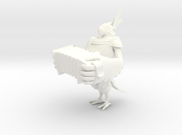 Kass in White Processed Versatile Plastic