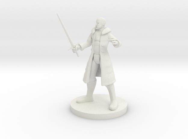Human Male Blade Warlock