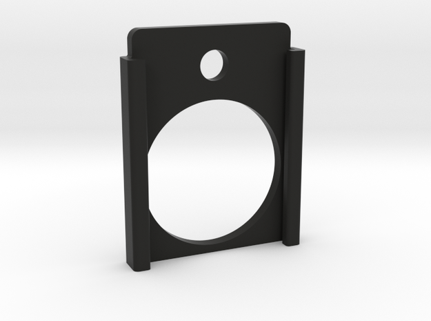 Swiss arms uzi - baseplate  in Black Natural Versatile Plastic