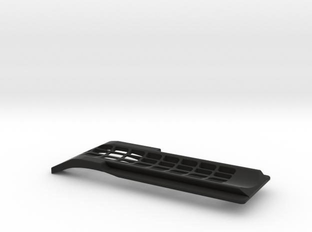 Arri dovetail standard handheld shoulder support  in Black Strong & Flexible