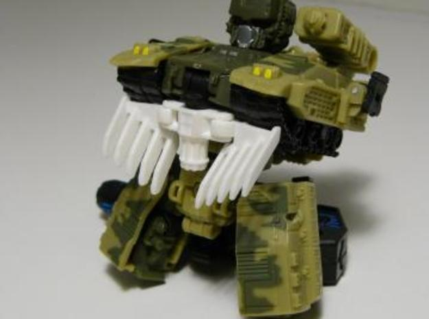 PCC Heavytread Mine Plow set 3d printed