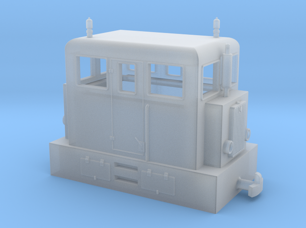 """Diesel loco H0e """"PocketBahn"""""""