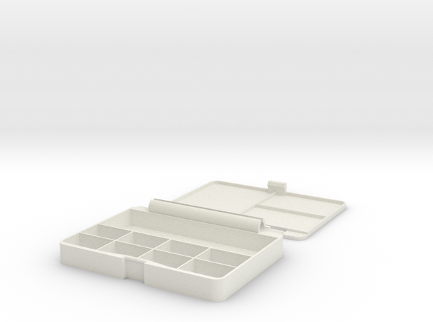 Watercolor Box in White Strong & Flexible