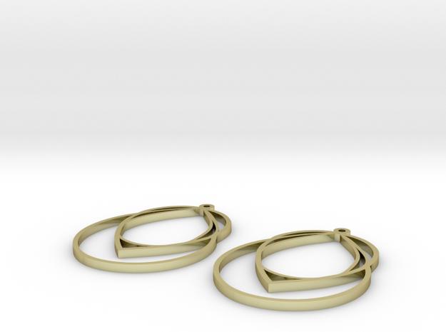 droplet earrings in 18k Gold