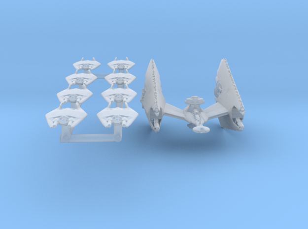 Narn T'Rann Carrier Group Full Thrust Scale in Smooth Fine Detail Plastic