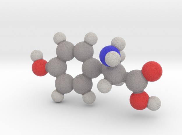 L-tyrosine in Full Color Sandstone