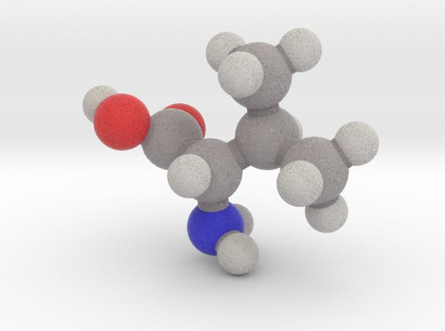 L-valine in Full Color Sandstone