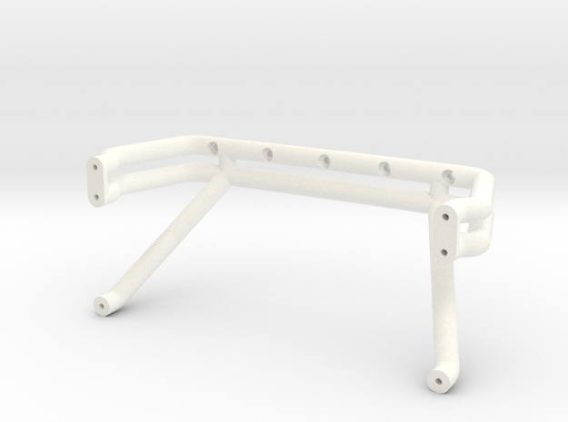 Bigfoot 7 roll bar in White Strong & Flexible Polished