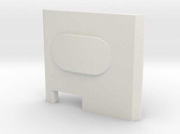 Button Boxer Bottom Feeder Style in White Strong & Flexible
