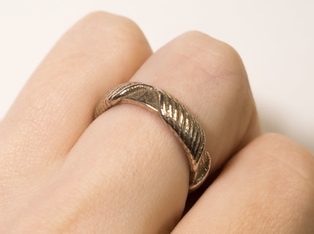 Ring T1A in Stainless Steel: 10 / 61.5