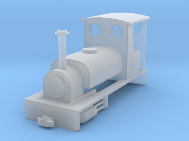 OO9 Quarry Hunslet for Kato Chassis in Smooth Fine Detail Plastic