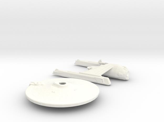 Smooth belknap 2500 in White Processed Versatile Plastic