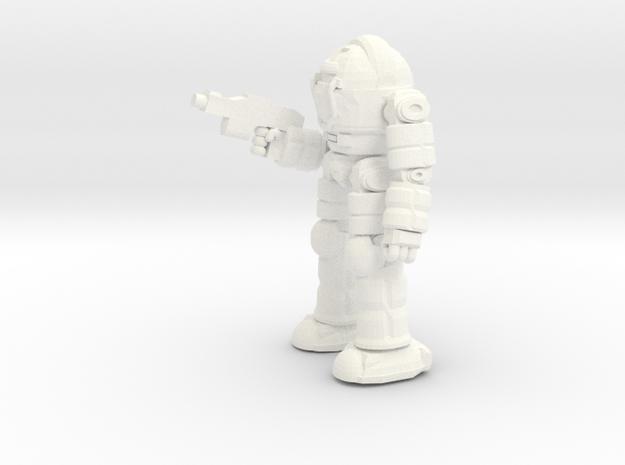 Ogre Battlesuit (POSE2) (Free Download) in White Processed Versatile Plastic