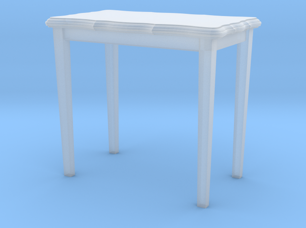 HO Scale 26.5 inch height side table in Smoothest Fine Detail Plastic