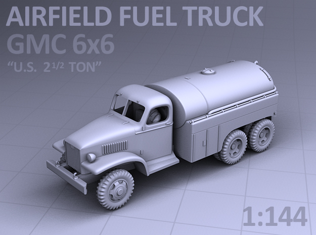 AIRFIELD FUEL TRUCK - GMC 6x6