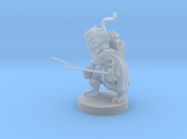 Gnome Ranger / Rogue in Smooth Fine Detail Plastic