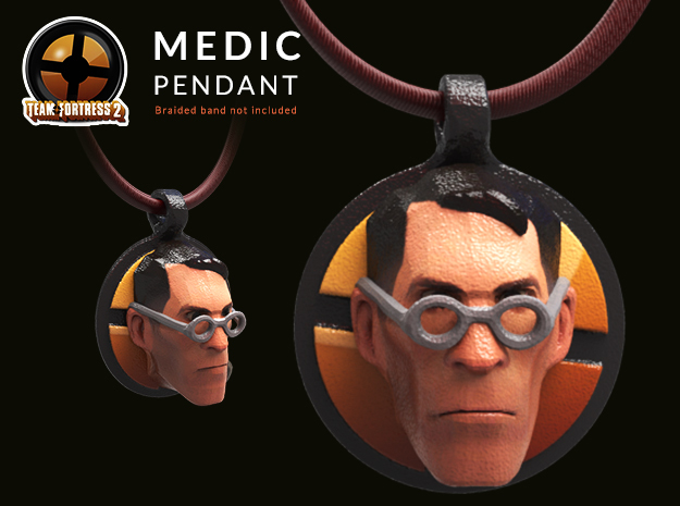 Team Fortress Medic Keychain | pendant
