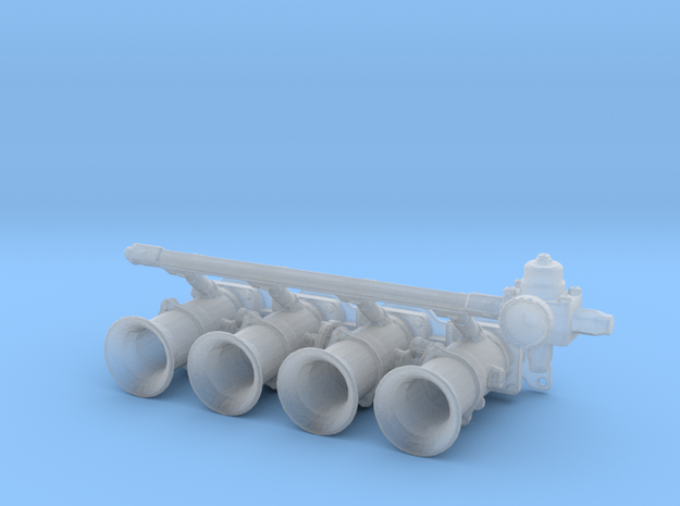 Engine Throttles Type1 - 1/10 in Smooth Fine Detail Plastic