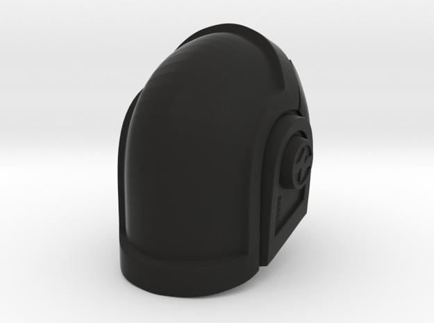 Glatorian Daft Punk Helmet 1 in Black Natural Versatile Plastic