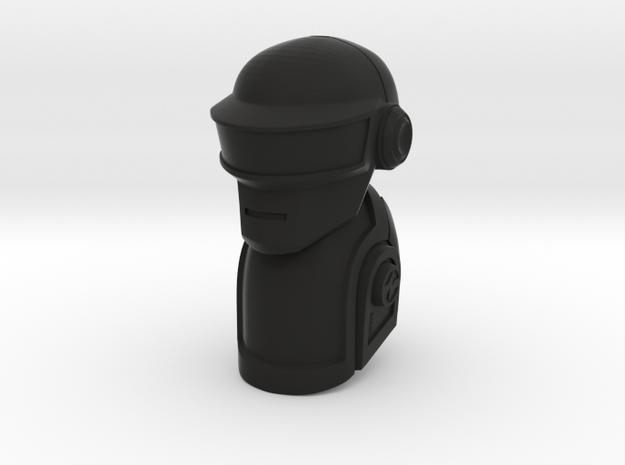 [Prototype] Daft Punk Glatorian Helmet Set in Black Natural Versatile Plastic