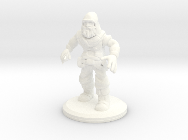 D&D Mini - Patches The Rogue in White Strong & Flexible Polished