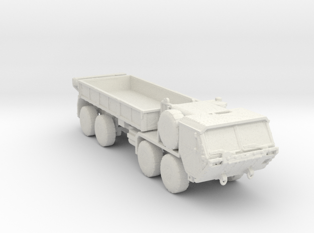 M977A2 Cargo Hemtt 1:220 scale in White Strong & Flexible